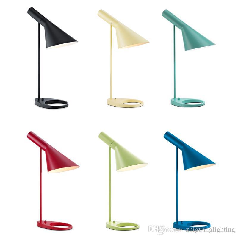 Nordic study reading lamp Bedside Table Lamp Children's Desk Light Hotel Room Light Student led Desk Lamp Learning Work Eye Lamps