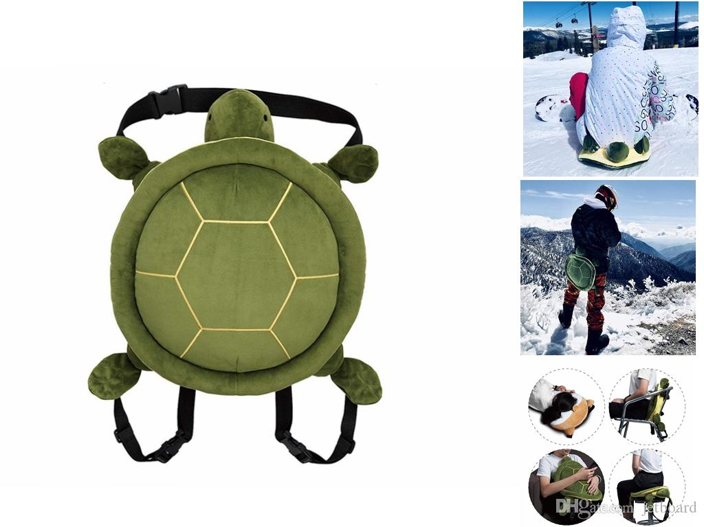 2020 Protective Gear Adjust Hip Butt Knee Tailbone Protection Pad Cute Turtle Shape For Skiing Skate Snowboard Skating From Jetboard 22 62 Dhgate Com