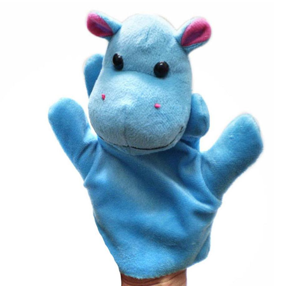 MUQGEW 2017 New Hot Sale 1pcs Animal Finger Puppet Plush Child Baby Early Education Toys Gift Animal Cartoon Kids Toy for Kids