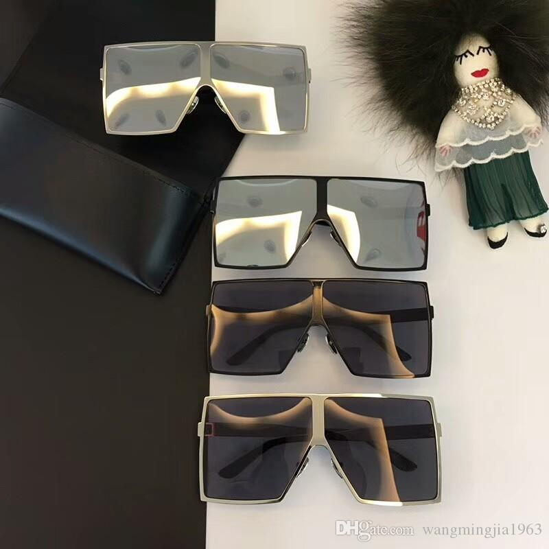 Nuovi Designer Sunglasses SL182 Occhiali da sole Occhiali da sole Occhiali da donna Uomo Donna Fashion Sun di lusso per occhiali da sole Glasses Designer di marca Oculos de Men BxGL