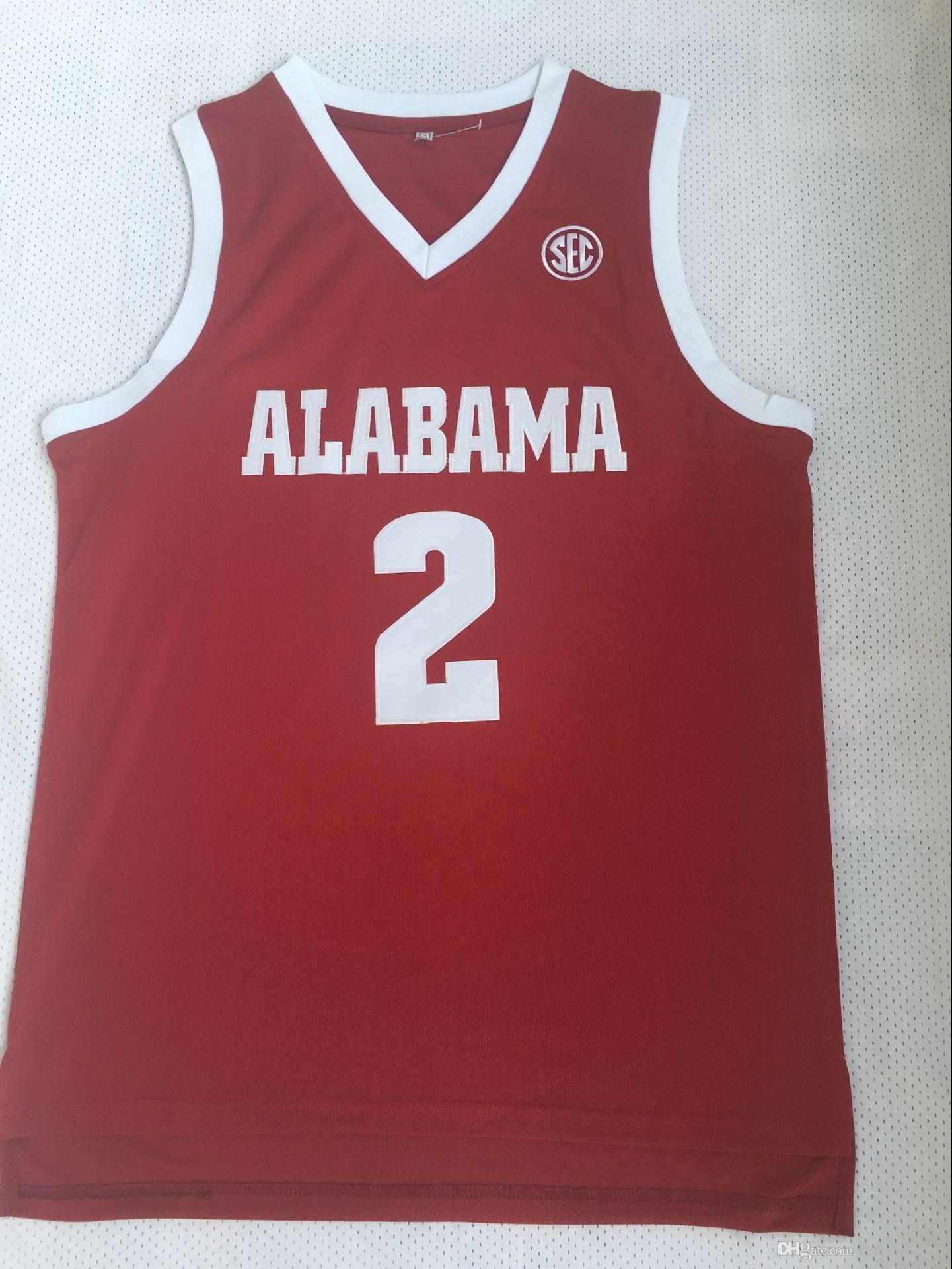 627db8d6e8c 2019 2018 Mens Collin Sexton College Jersey Alabama Crimson Tide Basketball  Jerseys  2 Home Red Collin Sexton Stitched Shirts S XXL From Redtradesport
