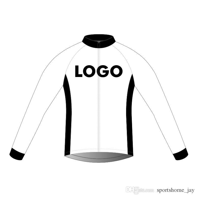 2018 Maillot personnalisé, manches longues printemps et l'automne vélo usure uniforme customize vélo pour l'homme et la femme Livraison gratuite