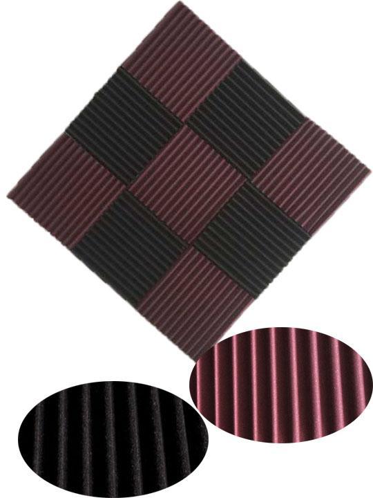 9pcs 300x 300x 25mm звукоизоляция акустическая пена звук лечения студия поглощения Клин