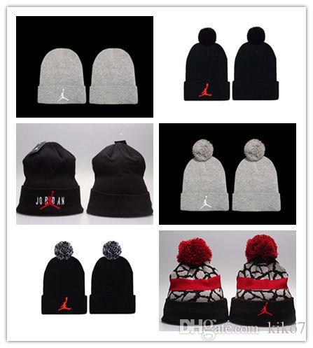 새로운 디자인 힙합 Beanies 저렴한 Pom Beanie 모자 양모 모자 가을 겨울 모자 Sprot men hat 모직 모자 다이아몬드 두개골 모자