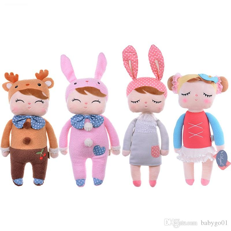 US STOCK Bunny Soft Plush Toys Rabbit Stuffed Animal Baby Kids Gift Animals Doll