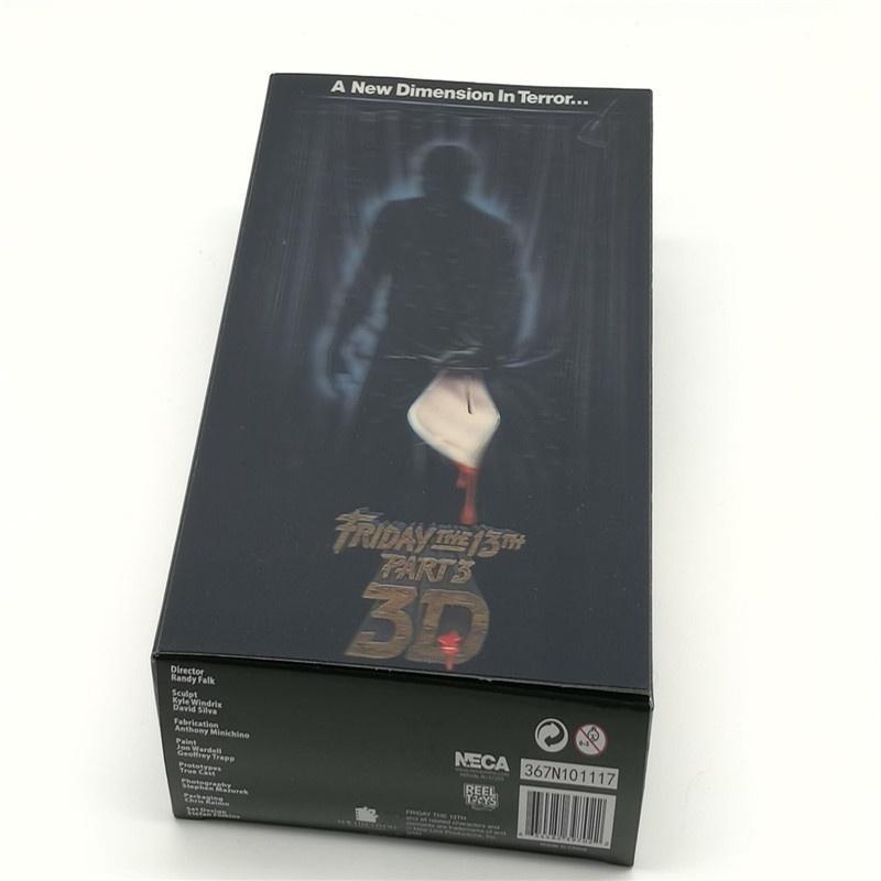 Vendredi le 13 Jason Voorhees Freddy Krueger Figure de Film 18CM