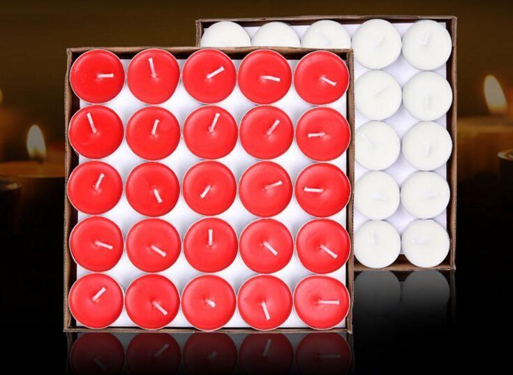 (200 шт.)Оптовая бездымный ароматические свечи кипящий чай маятник картина круговой парафиновые свечи маленькая свеча Оптовая гхи чай воск