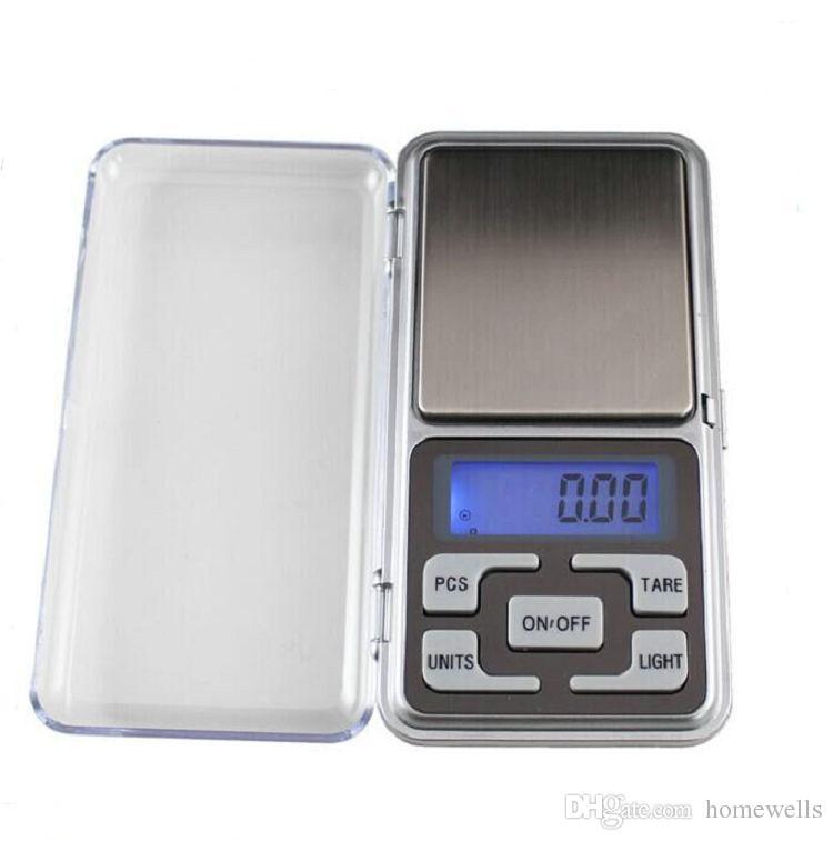 Elektroniczny wyświetlacz LCD Wagi kieszonkowe 200gx0.01g Biżuteria Diamentowa Skala Bilansowa Skala Mini Kieszonkowa Skala Cyfrowa Narzędzie kuchenne 1 sztuk za darmo