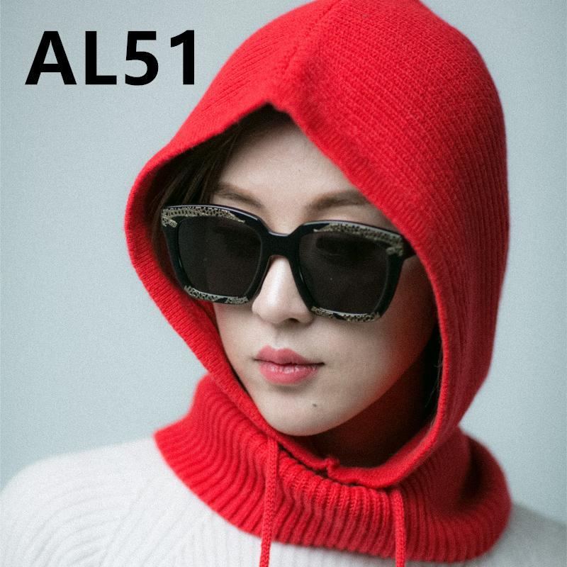 New Solid Letter Pm Skullies Beanies Fur Cotton Add Wool Ball Cap Winter Hat For Women AL51-55 D18103006