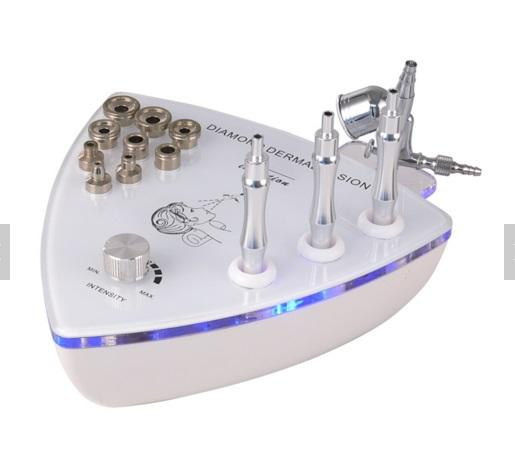 Microdermabrasion Machine For Home Use 2 In 1 With Oxygen Sprayer For Face Cleansing Skin Peeling Wrinkle Removal Diamond Dermabrasion
