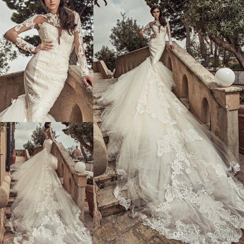 70s 80s Vintage Lace Wedding Dresses