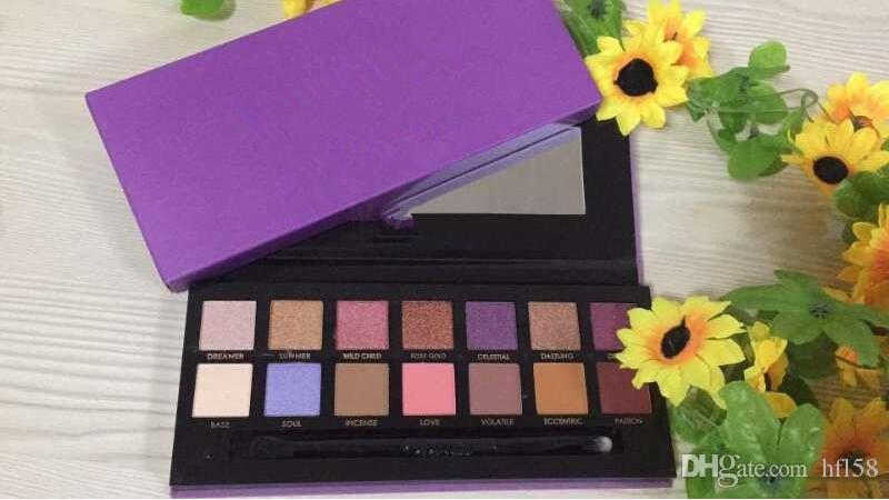 Livraison gratuite nouvelle marque palette de maquillage Cosméticos Maquiagem 14 palette de fard à paupières couleur / paleta de Sombras de ojos