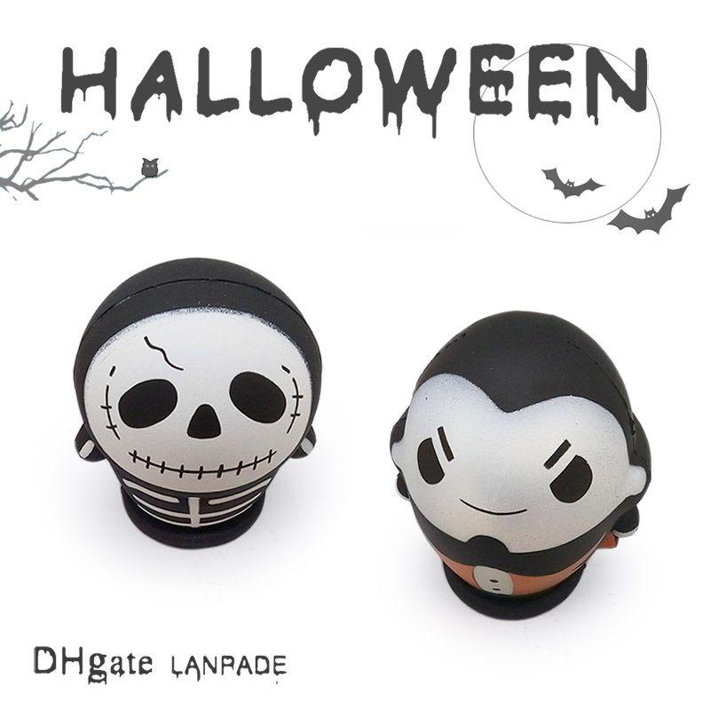 Halloween Squishies Vampire Squishy Skullman