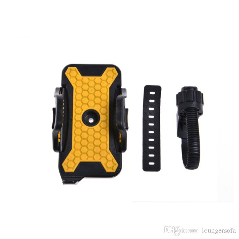 Регулируемый мобильный телефон стенд езда на велосипеде телефоны рамка нескользящей сгущаться Моды практические фиксированной многофункциональный держатель 13jh jj