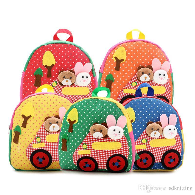 아기 어린이 동물원 동물 인쇄 배낭 유아 키즈 학교 가방 유치원 만화 여행 가방 배낭 A027