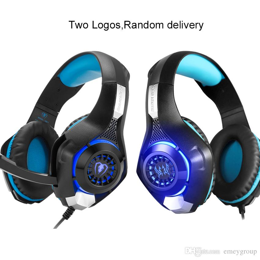 EACH GS400 Gaming Headset Gamer casque 3.5mm Stereo Headphones with Microphone for Laptop PS4 Gamepad New Xbox One GM-1