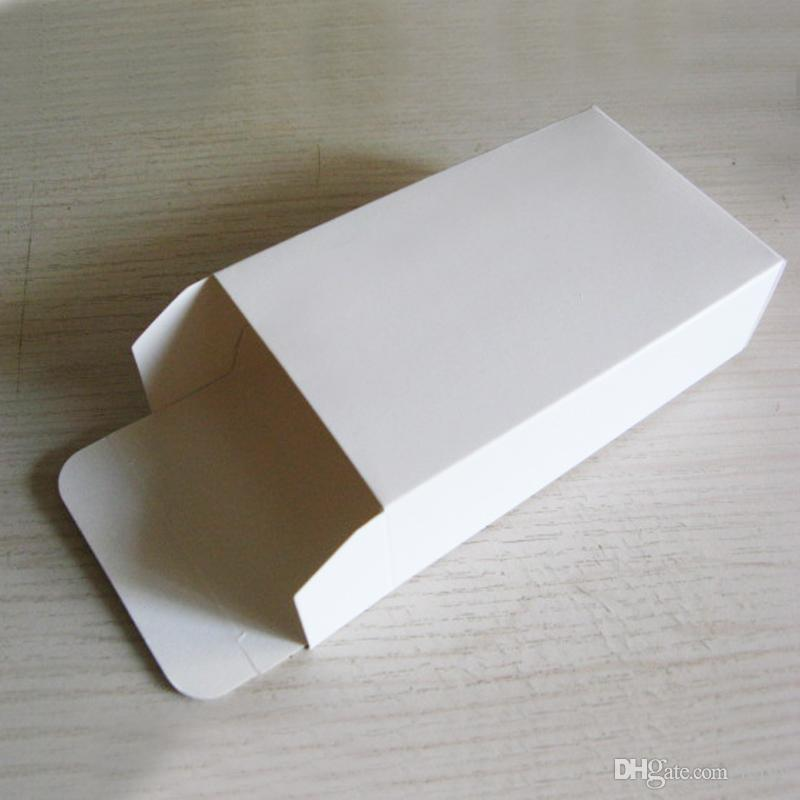 50 PCS 크기 160x80x30MM 종이 포장 화이트 USB 상자 전자 제품 포장 백서 선물 상자 화이트 박스