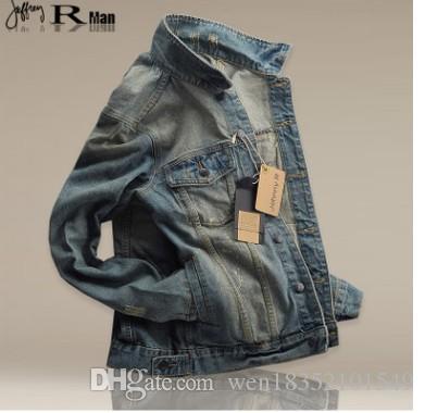 2018 autunno classico giacca da cowboy retrò, jeans europei e americani, giacca da uomo, jeans fabbrica vendita diretta.