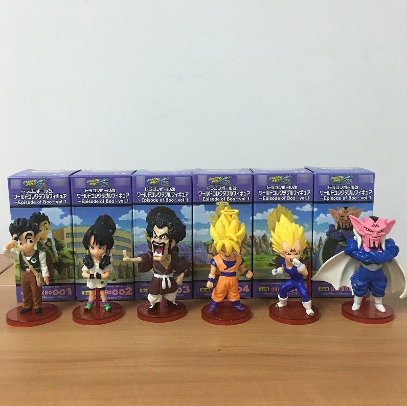 2020 Wcf Dragon Ball Z Gt Pvc Action Figures Super Saiyan Goku