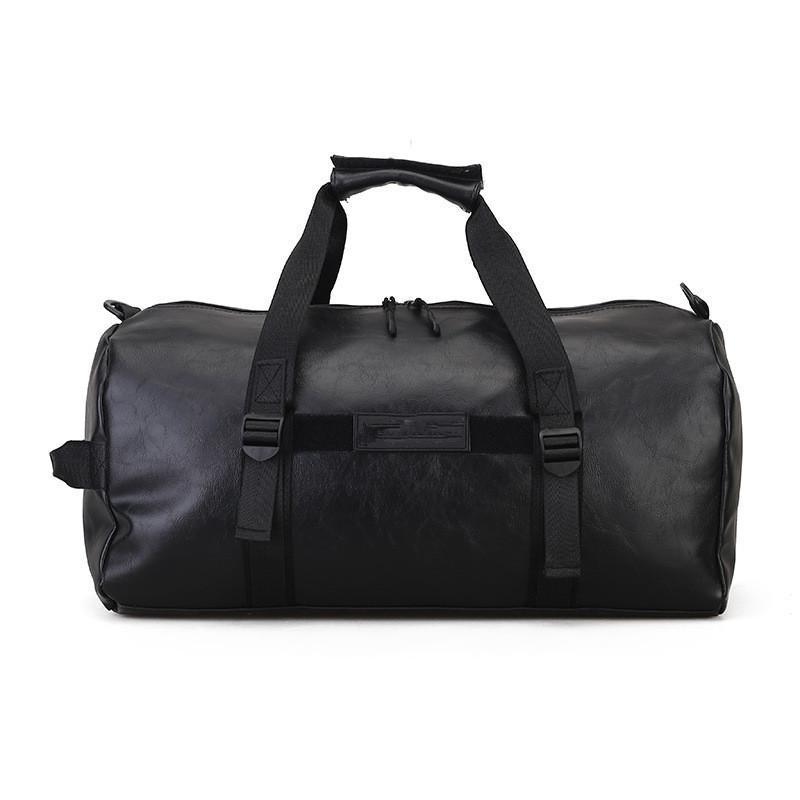 {Logo original} 2018 Nueva moda al aire libre viajes bolsas de lona del equipaje de mayor capacidad para hombres y mujeres bolso deportivo casual envío gratis
