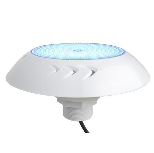 الفينيل بطانة السباحة بركة تحت الماء ضوء IP68 18 وات 12V راتنجات مليئة فلوش جبل Nicheless LED حمامات مصباح للخرسانة 18W RGB الأبيض CE