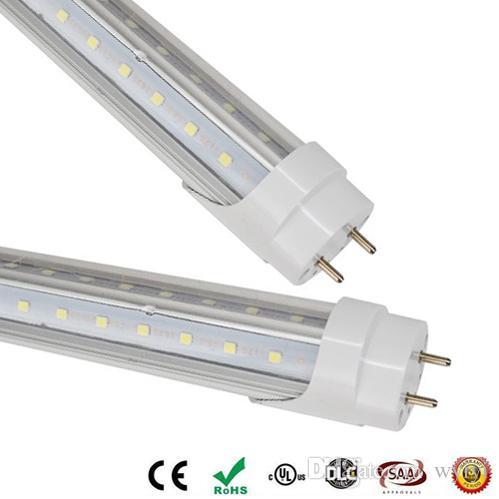 LED 튜브 28w G13 T8는 형광 튜브 에너지 라이트 전구 램프 전구 램프 클리어 커버 무료 배송 4피트 UPS FEDEX를 주도 4 피트