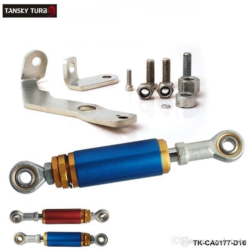 Engine Torque Damper Brace Kit Motor Mounts Blue For 92-00 CIVIC EG EG6 EK EK9 TK-CA0177-D16