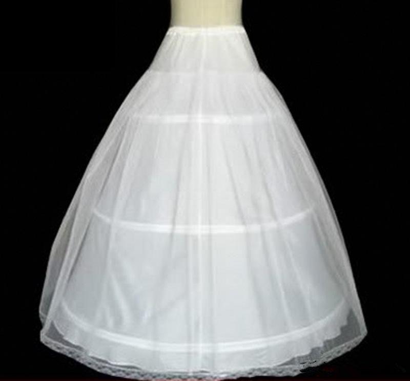 Real Image Ball Gown Wedding Dresses Flower Girl Dress Petticoat Circle Hoops White Pannier Bustles Princess Slip Skirts High Quality