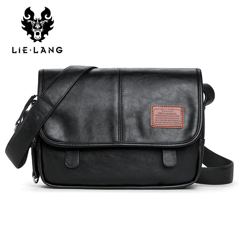 Heat-Tracing Waterproof Canvas Shoulder Messenger Men Flap Bag Small Vintage Camera Crossbody Bags for Man