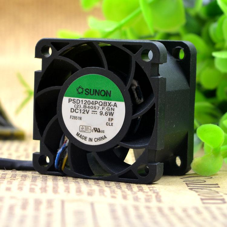 Para Jianquan SUNON PSD1204PQBX-A 4028 4cm 9.6W 12V ventilador de enfriamiento de gran volumen de aire