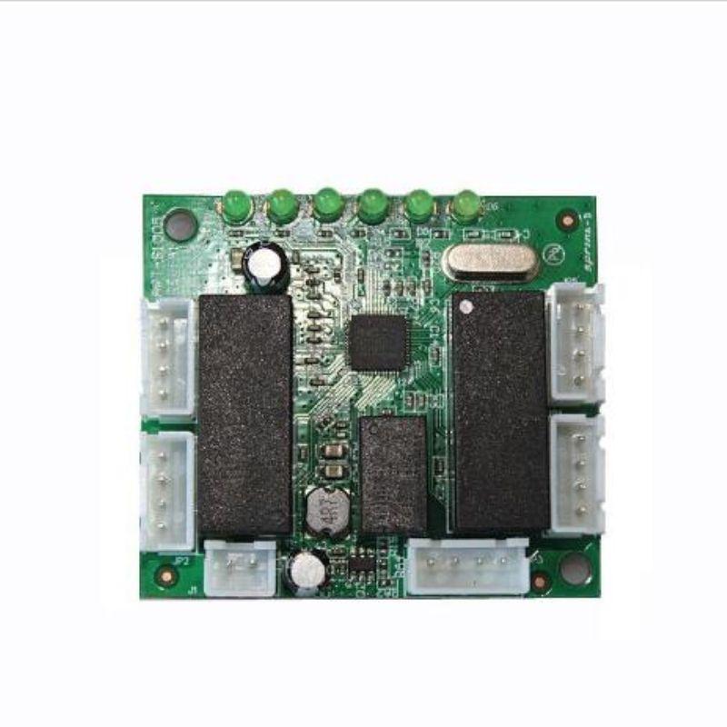 OEM-Switch-Modul Mini-Design-Ethernet-Switch-Platine für Ethernet-Switch-Modul 10 / 100mbps 5 Port PCBA Board PCBA-Motherboard