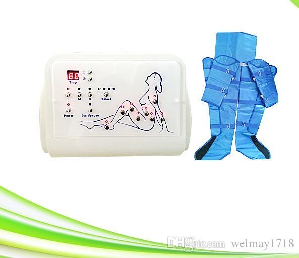 tragbare ionische Detox Maschine Luftdruck vibrierende Blutzirkulation Fußmassagegerät