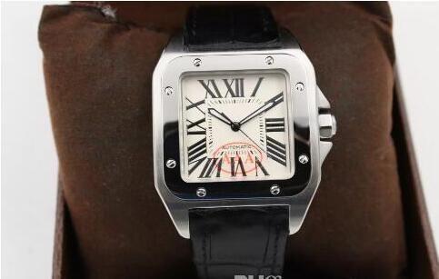 العلامة التجارية الجديدة الرياضة الفاخرة الجودة 100 XL الرجال السود تاريخ التلقائي الساعات الميكانيكية الرجال الساعات الرياضية 40MM حزام جلد الأصل المشبك