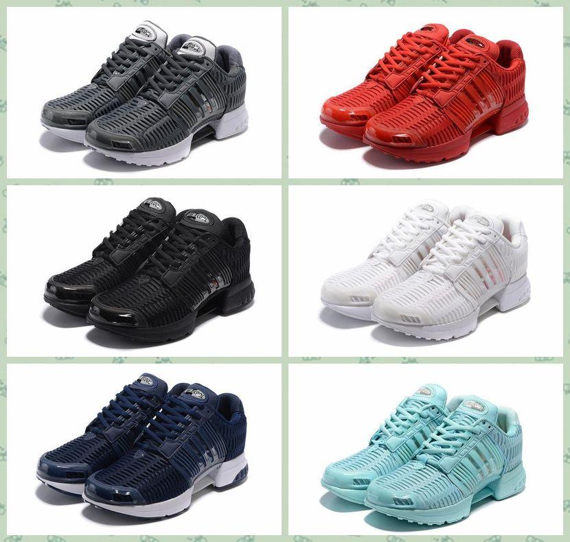 Alta Qualidade Climacool 1 Clima Cool TUBULAR VIRAL W Malha Triplo Preto Branco Sapatos Homens Sombra Tubular Correndo Malha Esportes Tênis 40-45