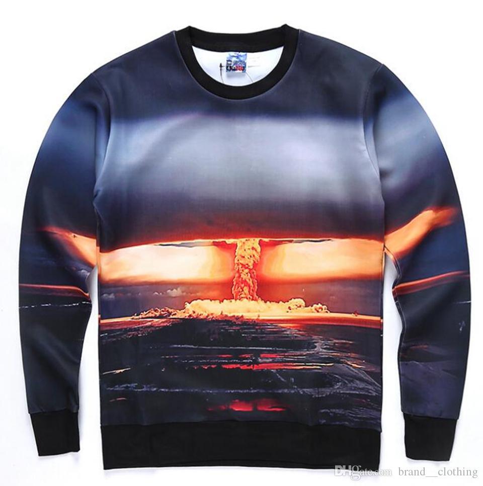 Męska Europa Stany Zjednoczone Wypoczynek Moda Nowa Koreańska wersja Boutique Osobowość Trend Digital Printing Jacket 2314 S-XL