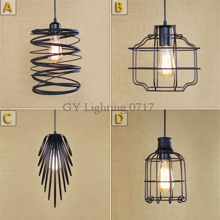 Großhandel AC100 240V Neues Design Art Deco Pendelleuchte Industrie  Restaurant Shop Shop Lampe Esszimmer Küche Bar Eisen Hängelampen Von ...