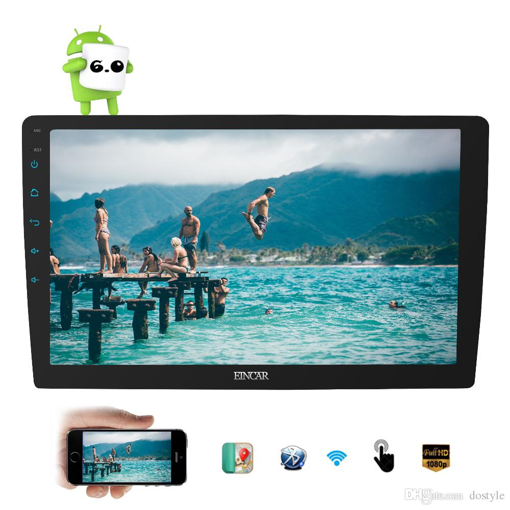 """10.1"""" Android 6.0 Double din car video no-DVD GPS Stereo Radio Player Touchscreen 2GB RAM car radio stereo in dash headunit"""