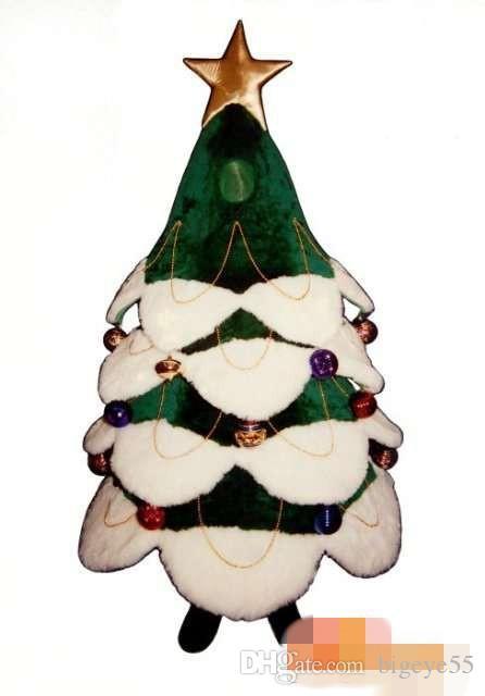 Personnalisé costume de mascotte arbre de Noël costume de caractère taille adulte livraison gratuite