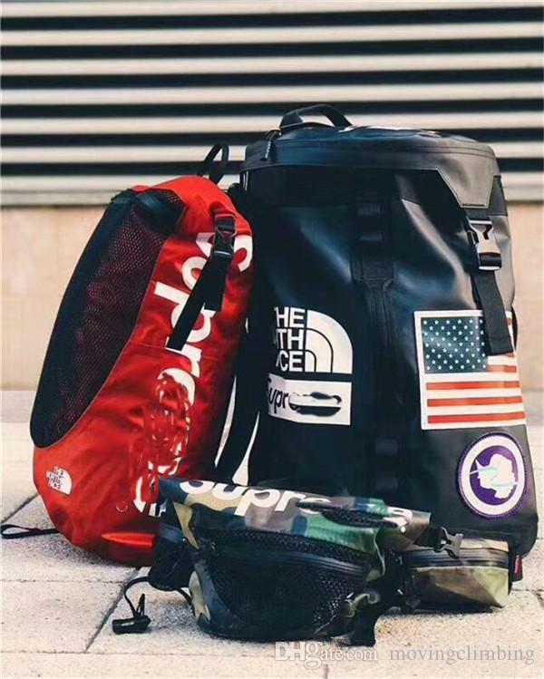 2018 배낭 FACE 연인들 여행 더플 가방 학교 가방 어깨 가방 스포츠 백팩 야외 핸드백 무료 배송