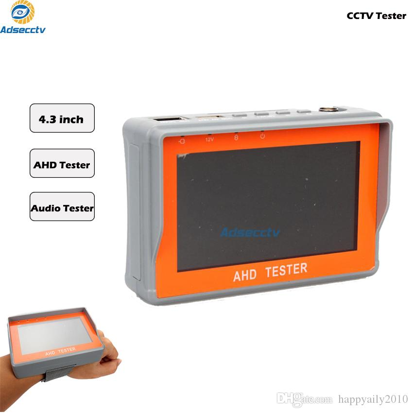 New CCTV 1080P 720P AHD Camera Tester 4.3-inch LCD Analog Video Test 12V/5V Power Output Surveillance Tools CCTV Tester AR-CT401