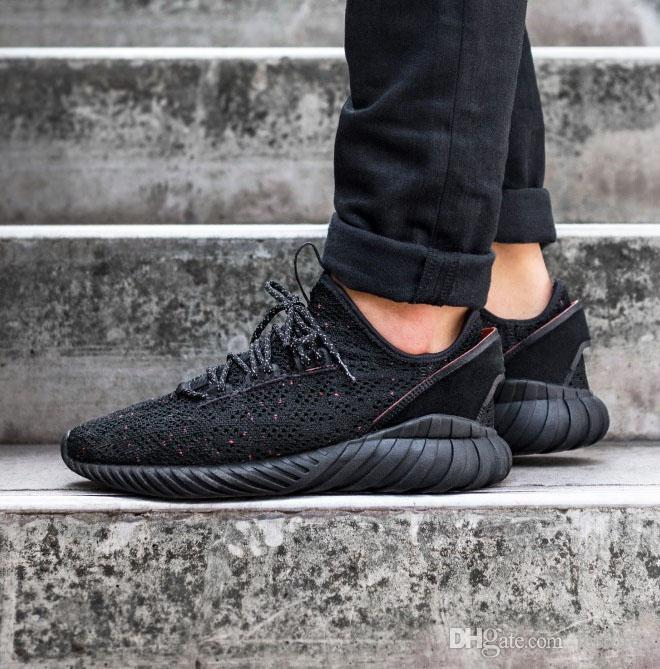 uk availability 7bb25 023e8 High Quality New Originals Tubular Doom Sock Primeknit Sneaker Men And  Women Running Shoes Triple Black East Bay Shoes Shop Shoes From Justores,  ...