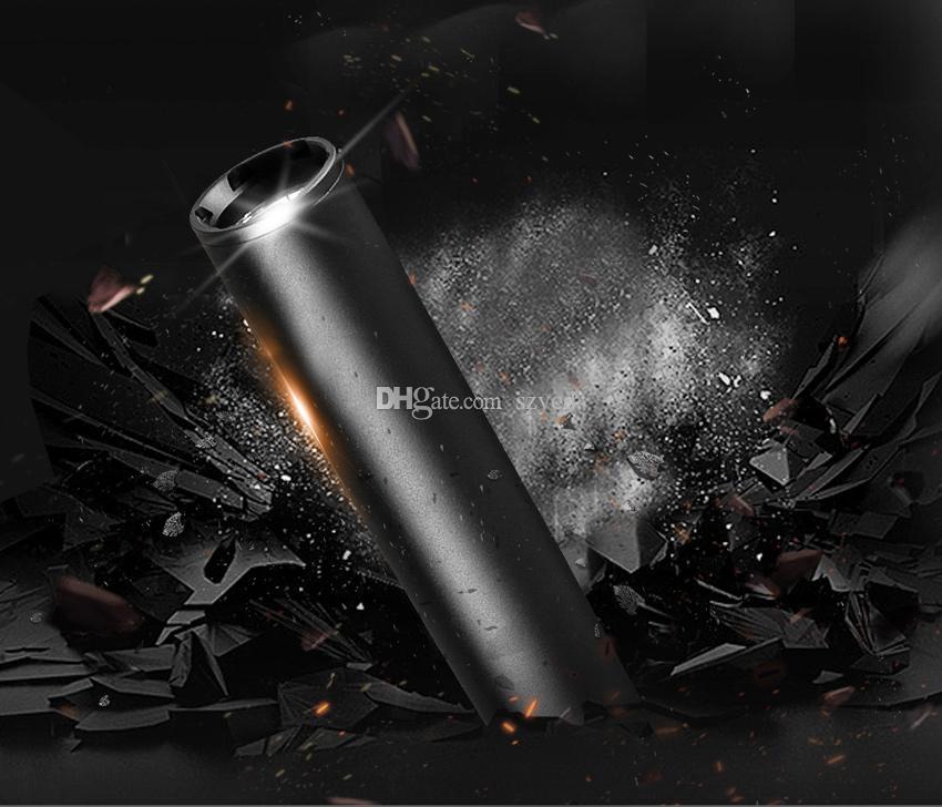 Batte de baseball DEL lampe de poche Tactique Zoomable 3 Modes Torche Lampe de sécurité