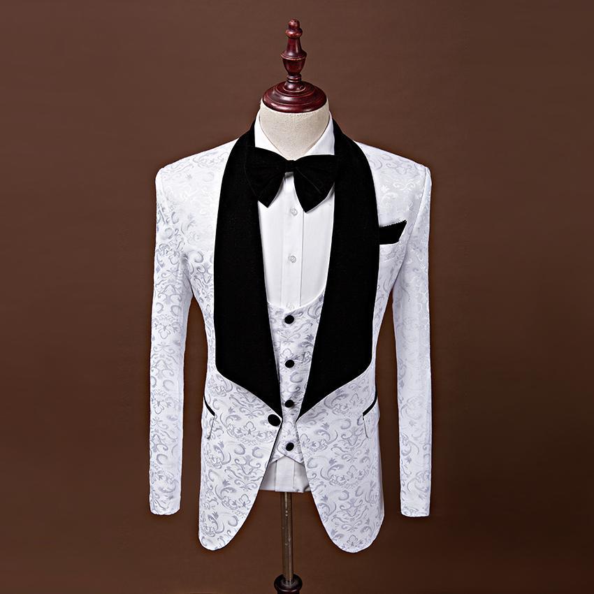 Acheter Vestes Gilet Pantalon 2018 Costumes Pour Hommes Sur Mesure Derniers Modeles De Manteaux De Manteau Costumes De Mariage Pour Hommes Rouge Blanc Noir De 89 3 Du Southi Dhgate Com