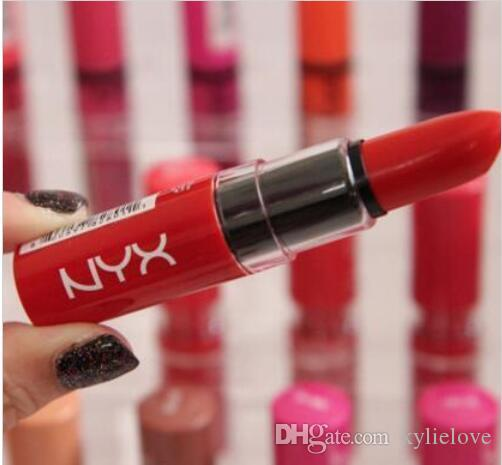 NYX Butter Lipstick 12 Colors Batom Mate Waterproof Long-lasting Lipstick ny Tint Lip Gloss Stick Brand Makeup Maquillage