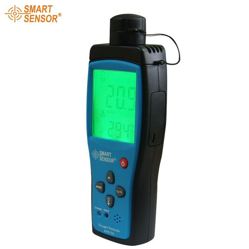 Умный датчик кислорода газоанализатор o2 диапазон измерения концентрации 0-30% тестер детектора AR8100