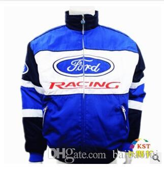 Ford 2019 nouvelle veste en coton de broderie Moto Car Racing Team Jacket