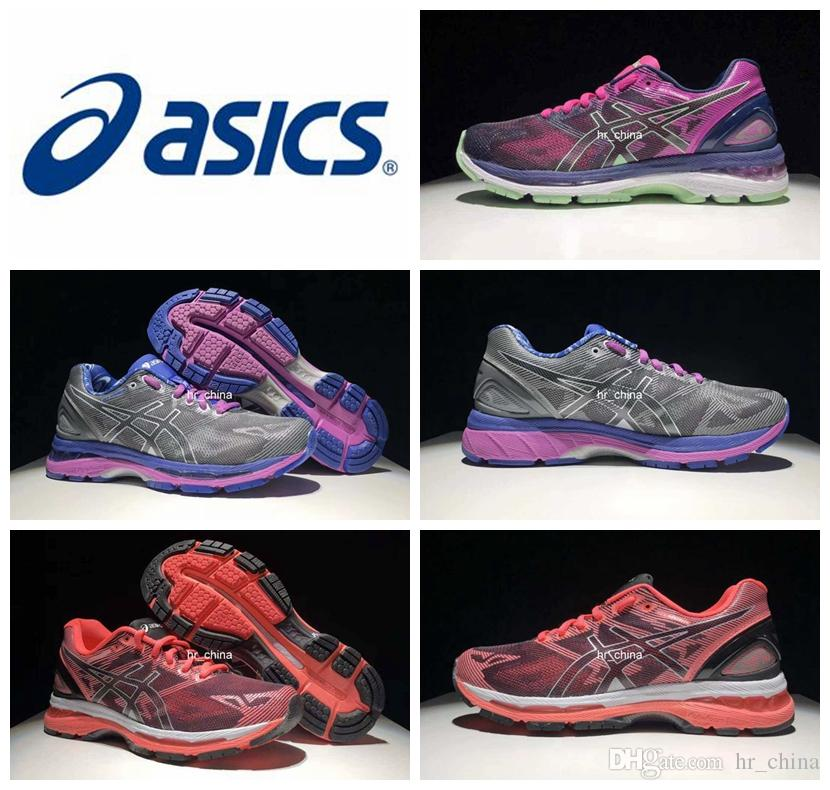 buy popular 3ba78 3105d 2018 Asics Gel Nimbus 19 Running Shoes For Women Wholesale Top Quality  Zapatos Eportivos Asics Athletic Sport Sneakers Eur Size 36 40 Stability ...