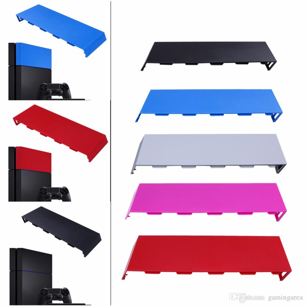Color Housing Matte HDD Bay Cover Hard Disc Drive Cover Case Shell faceplate for Playstation 4 PS4 Console High Quality FAST SHIP
