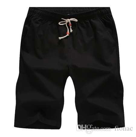 Poradyshorty Oddychające Męskie Spodenki Casual Wygodne Plus Size Cool Short Masculino Summer Cotton Shorts Men