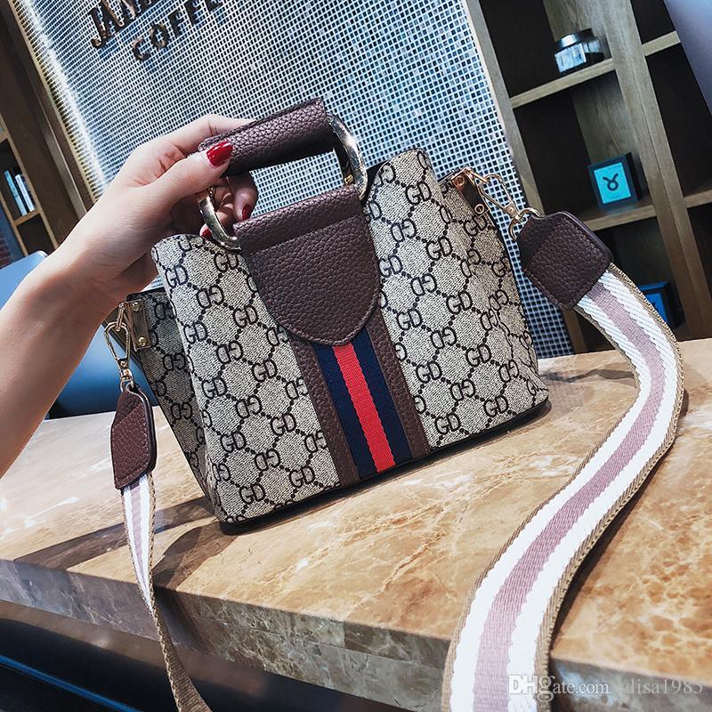 Alta qualidade Marca Mulheres bolsa de couro Senhoras messenger bag cross corpo ombro Ferrolho sacos novos Bolsos Yige / 7